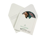5 1/8- x 5- White Fibreboard CD Mailers (100 Per Case)