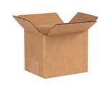 5- x 4- x 4- Corrugated Boxes (Bundle of 25)