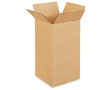 5- x 5- x 10- Tall Corrugated Boxes (Bundle of 25)