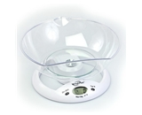 WeighMax 5800 Kitchen Scale with Large Stable Glass Plate
