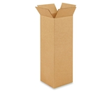 6- x 6- x 18- Tall Corrugated Boxes (Bundle of 25)