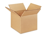 6- x 6- x 5- Corrugated Boxes (Bundle of 25)