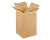 7- x 7- x 12- Tall Corrugated Boxes (Bundle of 25)