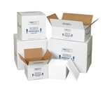 8- x 6- x 4 1/4- Insulated Shipping Containers (12 Per Case)