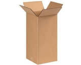 8- x 8- x 16- Tall Corrugated Boxes (Bundle of 25)