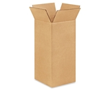 8- x 8- x 17- Tall Corrugated Boxes (Bundle of 25)