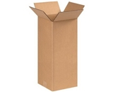 8- x 8- x 18- Tall Corrugated Boxes (Bundle of 25)