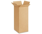 8- x 8- x 20- Tall Corrugated Boxes (Bundle of 25)