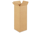 8- x 8- x 24- Tall Corrugated Boxes (Bundle of 25)