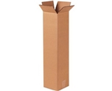 8- x 8- x 48- Tall Corrugated Boxes (Bundle of 20)