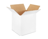 8- x 8- x 8- White Corrugated Boxes (Bundle of 25)