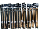 9- SPN U-nitt Bamboo Knitting Needles Single Point / straight 14-pack patina