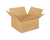 9- x 9- x 4- Flat Corrugated Boxes (Bundle of 25)