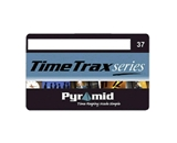 Pyramid PTI41302 Time Recorder Swipe Cards, Numbered 1-25, TimeTrax Systems, 25 Per Pack