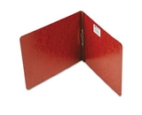 ACCO 17928 Pressboard Report Cover, Top Bound, Tyvek Reinforced Hinge, Letter Size, 2.75 Inch Centers, 2 Inch Capacity, Red (A7017928)