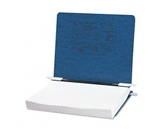 ACCO : Pressboard Hanging Data Binder, 8-1/2 x 11 Unburst Sheets, Dark Blue -:- Sold as 2 Packs of - 1 - / - Total of 2 Each