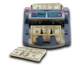 AccuBanker AB1100UV Commercial Digital Bill Counter + Ultraviolet Detection