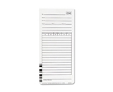 Acroprint 09-9111-000 Totalizing Payroll Recorder Time Cards ES1010, Pack of 100 Cards, Numbered, Employee Signature Line