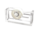 Kantek AD-60 Acrylic Tape Dispenser - Clear