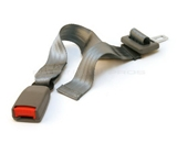Adjustable 11-26- Car Seat Belt Extender - Grey - Type A (7/8- wide metal tongue) - Click & Go!