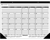 AT-A-GLANCE 2014 Monthly Desk Pad, Black and White, 22 x 17 Inches (SK24-00)