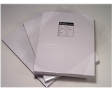 Akiles 5 Mil 8.5- x 11- Square Corner With Tissue Interleaving Crystal Clear Binding Covers (100 Pcs)