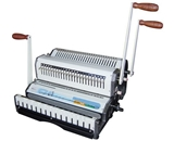 Akiles DuoMac-C31 Binding Machine & Punch Heavy Duty 2-in-1 Comb & 3:1 Wire