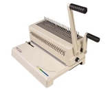 Akiles MegaBind-2 14- Plastic Combs Binding Machine, Punch & Wire Closer for Spiral-O