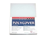 Akiles Polycovers 16 MIL Thick, Clear Color (Size: 8.5- X 11- Emboss: CRYSTAL)