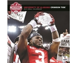 Alabama Crimson Tide 2013 Team Wall Calendar 12- X 12-