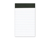 Ampad 20-208 Evidence 3- x 5- Narrow Perforated Writing Pads - White (12 Pads of 50 Sheets Each)