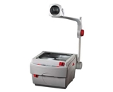 Apollo 3000 Lumen Closed Head Overhead Projector with Marker, 15 x 14 x 27 Inches (V3002M)