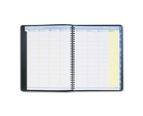 AT-A-GLANCE QuickNotes Recycled Weekly/Monthly Appointment Book, 8 1/2 x 11 Inches, Black, 2013 (76-950-05)