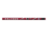 Atlanta Falcons Wood Pencil, Bulk, 1 Box of 144 - NFL (WDP-QUB)