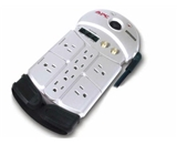 Audio/Video Surge Protector 8 Outlet