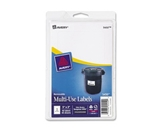 Avery 5450 Removable Print or Write Labels, 3- x 5- - White (Pack of 40)
