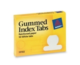 Avery Gummed Index Tabs, 50 Tabs (59102)