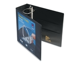 Avery Nonstick Heavy-Duty EZD Reference View 4 Inch Black Binder (79604)