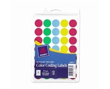 Avery See-Through Removable Color Dots, 0.75-Inch Diameter, Assorted Colors, 1015 per Pack (05473)
