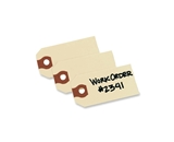 Avery Shipping Tags, 2.75 x 1.375 inches, Manila, Pack of 1000 (12301)