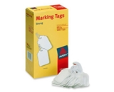Avery White Marking Tags Strung, 2.75 x 1.68 Inches, Pack of 1000 (12201)