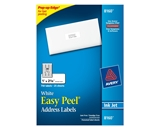Avery Easy Peel Address Labels, Inkjet Printers, White, 1 x 2-5/8 Inch, Box of 750 empty address labels  - 25 Sheets / 30 per Sheet  - 08160