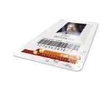 GBC HeatSeal UltraClear Thermal Laminating Pouches, Badge ID Card Size, Clear, 100 Pack - 3200016