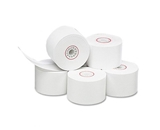 PM Company Single-Ply Thermal Cash Register/Point of Sale Rolls, 1-3/4- x 150 ft, 10/Pack