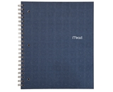 Mead Recycled Notebook, 1-Subject, 80-Count, College Ruled, Indigo  - 72443