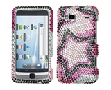 Mybat HTC G2HPCDM013NP Dazzling Diamante Bling Case for HTC G2 - Twin Stars