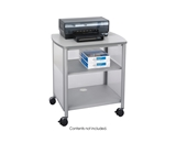 Safco Products Impromptu Deskside Machine Stand, Gray, 1857GR