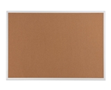 Quartet Cork Bulletin Board, Aluminum Frame, 36 x 48 Inches - 85134-2