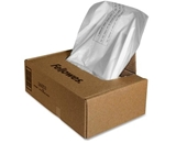 Powershred Shredder Waste Bags, 9 gal Capacity
