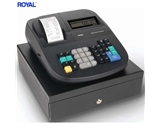 Royal 500DX 16-Department with 999 PLUS & 8-Clerk ID--s and 4-Tax Rates Cash Register + Counterfeit Detector Pen + 6 Thermal Register Paper Rolls + 2 Black Ink Rollers